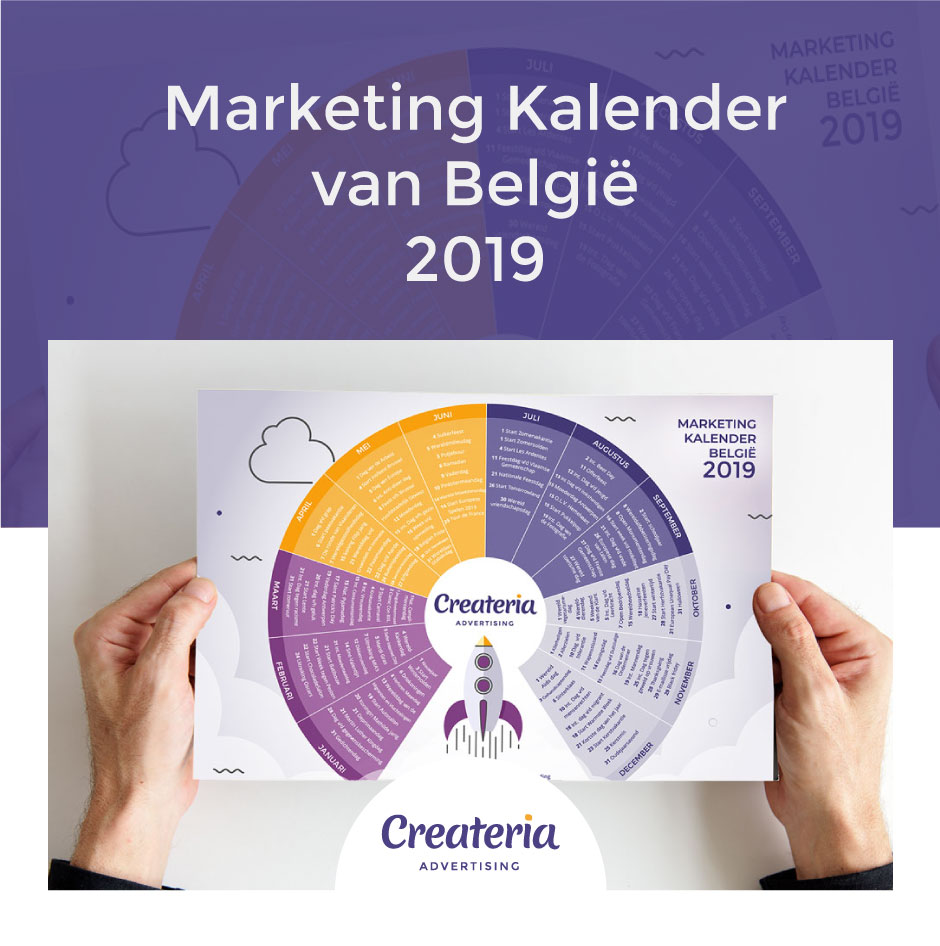 Marketing Kalender Belgie 2019