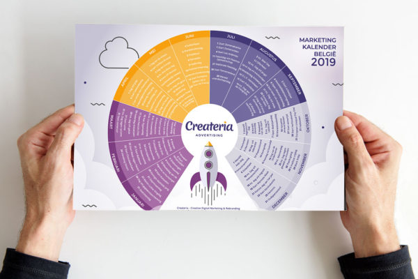 Marketing Kalender van Belgie 2019