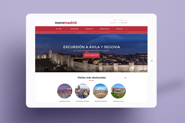 Website MoreMadrid